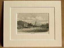 THE CAPITOL WASHINGTON USA ANTIQUE ENGRAVING FROM 1876 VINTAGE PUBLICATION RARE
