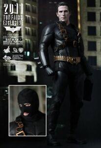 "MIB Batman Begins Bruce Wayne 1/6 12"" Hot Toys 2011 Toy Fair Exclusive DC MMS155"