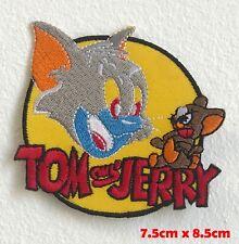 Tom und Jerry Cartoon Bestickt Eisen Aufnäher #1620
