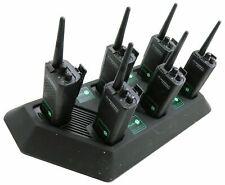 MOTOROLA GP300 UHF 4 WATT WALKIE-TALKIE TWO WAY RADIOS x 6