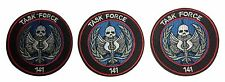 Call of Duty Task Force 141 Embroidered Iron On Patch Set of 3 Patches