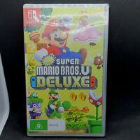 New Super Mario Bros.U Deluxe Nintendo Switch Video Game Nintendo 2019 New
