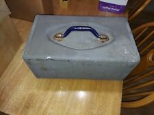 Kennedy tackle box.rare aluminum.vintage