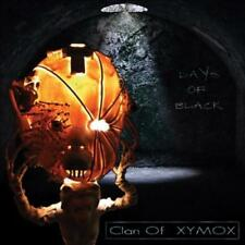 CLAN OF XYMOX (XYMOX) - DAYS OF BLACK * NEW CD
