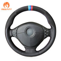 Wheelskins Steering Wheel Cover Solid Black for 1989-2003 BMW 5 Series