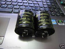 2PCS NEW KENDEIL K05- 22000UF 40V 105C LOW ESR CAPS AUDIO QUAD- NAIM AMP !