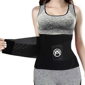 Moolida Waist Trainer Belt Women Waist Trimmer Weight Loss Workout Fitness MED