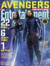 Entertainment Weekly March 16 2018 Avengers Infinity War Winter soldier & Mantis