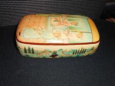 Rare Antique Persian Laquer Box