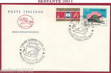 ITALIA FDC IL CAVALLINO TRUPPE ALPINE MOSTRA STORIA POSTALE 1988 TORINO Z534