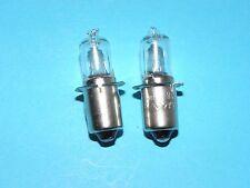 2 X HALOGEN FAHRRAD BIRNE 6V 2,4W LAMPE MIT STECKSOCKEL 2 Stück 2 X 01918