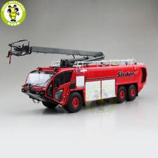 1/50 Striker OSHKOSH Airport Fire truck Diecast Model Truck Car Toys kids Red