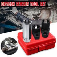 3x O2 Oxygen Lambda Sensor Socket 6 Point Wrench Tool Remover Installer Set /