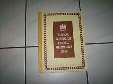 Kosmos Zigarettenbilderalbum Fußball Weltmeister 1954 Album deutsche National