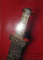 1970 Catálogo De Venta Drouot Monedas Antigüedades Y Prehistórico