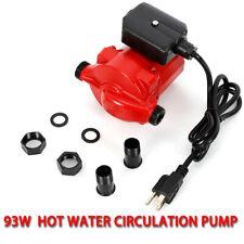 Npt 3/4'' Hot Water Circulation Pump 3-Speed Domestic Circulator Pump 120V