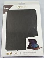 Caseual neat Folio Premium Flip Case SETAIR-BLK für iPad Air - Schwarz NEU A