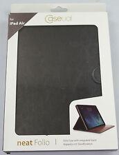 Neuf ! Caseual Neat Folio Premium Flip Case Setair-Blk pour Ipad Air - Noir