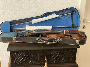 Geige,antik,rar,selten,Matthias Albanus,geschnitzter Kopf,Violine,Männerkopf