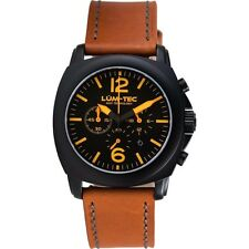 LUM-TEC M73-S CHRONOGRAPH NEW+GIFT MEN'S WATCH LIMITED EDITION 100+FREE SHIPPING