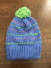 GNU Snowboard Beanie Hat - Pom - Multi Color - NEW - Cute - Girls - Youth