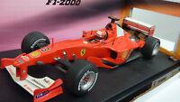 Hot Wheels 1:18 M.Schumacher Ferrari F 2000 Nr. 26737 in OVP (A651)