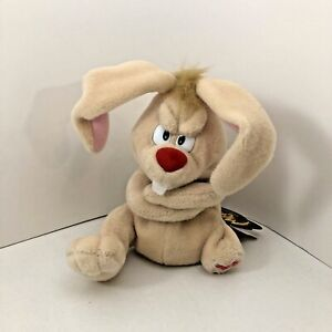 Meanies Series 2 Lucky the Rabbit bean bag plush 1998 New with Tags