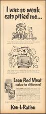 1953 Vintage ad for Ken-L-Ration Dog Food`art cartoon.       (021718)