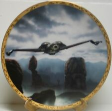 Star Trek Voyagers Series Klingon Bird of Prey Ceramic Plate 1994 COA BOXED