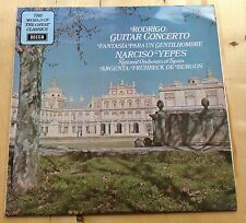 VINYL LP: RODRIGO Guitar Concerto NARCISO YEPES National Orchestra of Spain