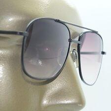 Reading Glasses Men's Sunglasses Tinted Aviator True Bifocal Black Frame +1.25