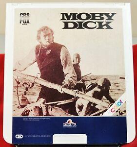 RCA VideoDisc CED - Moby Dick - CBS/Fox, c.1983