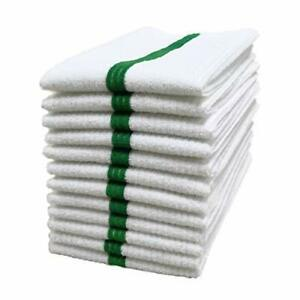 POLYTE Microfiber All-Purpose Ribbed Terry Bar Mop Towel Home Kitchen Restaur...