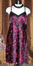 ~~ NEW APT 9 KOHL'S INTIMATE SEXY SILKY FLORAL NIGHTIE NIGHTGOWN SIZE MEDIUM ~~