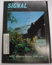 Signal Magazine Nato Gibraltar Lisbon April 1978 071415R