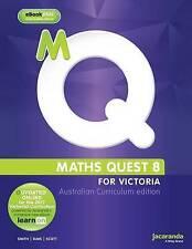 Maths Quest 8 for Victoria Australian Curriculum Edition -Smith, Elms, Scott
