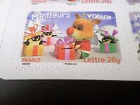 FRANCE 2006, timbre AUTOADHESIF 101, MEILLEURS VOEUX, MANCHOT RENNE neuf**, MNH