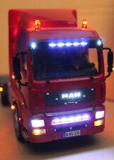Umbau Service Angebot: Lichtumbau am MAN LKW Siku Control 6721