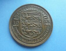 Jersey, 1/12th Shilling 1923, Good Condition.
