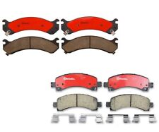 Front & Rear Brembo Brake Pads Set Kit For Chevy Express GMC Savana 2500 2006-17
