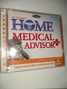 Dr Sheulers Home Medical Advisor Pro CD ROM Windows 95 3.1 SoftKey 1997 New Seal