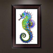 DIY 5D Diamond Embroidery Painting Hippocampus Cross Stitch Craft Home Decor