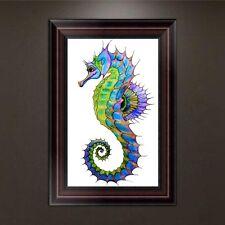 DIY 5D Diamond Embroidery Hippocampus Painting Cross Stitch Craft Home Decor