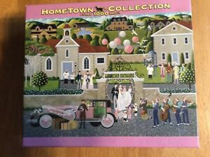 HOMETOWN PUZZLE COLLECTION New Heronim Wysocki HONEYMOON BOUND 1000 Piece