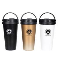 HOSHIZORA Vacuum Insulated Travel Coffee Mug Stainless Steel Tumbler 500mL 17oz