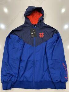 NWT $75 Youth UniSex Nike England Windrunner Soccer Jacket CI8434-485 Size L
