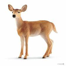Schleich 14819 White-tailed Doe Deer Toy Wild Animal Figurine 2019 - NIP
