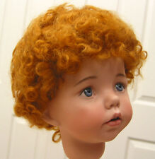 BABY LAUREN Mohair WIG Auburn 8-9 short curly hair for baby/toddler/boy DOLLS