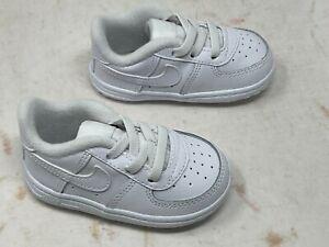 Crib Nike Force 1 Crib Triple White CK2201 100 SZ 4C