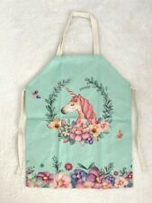 Cooking/Art Apron New Flower Unicorn Apron Unicorn Kids Art Smock 45x56cm